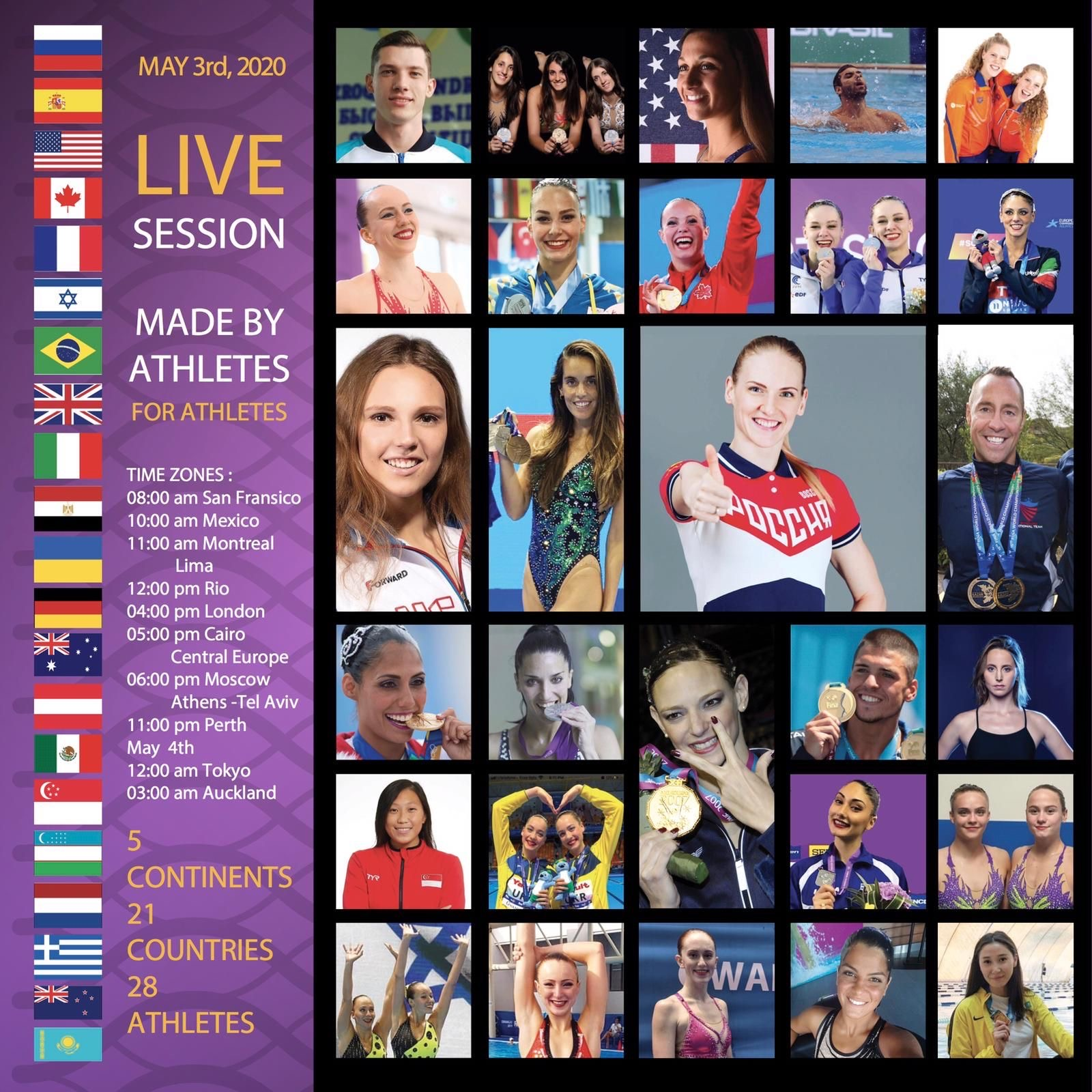 WORLDWIDE_Live_Workout_by_athletes_for_athletes mit Marelne Bojer